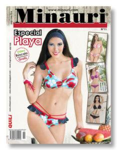 Minauri revista 11 playa bikini