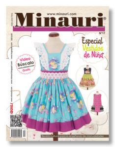 Minauri revista 17 vestidos nina