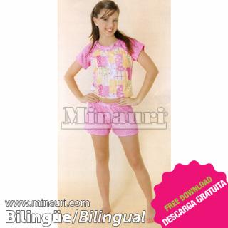 Pijama Dama Ref 18 by Maria Fernanda