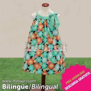Vestido de Nina Ref 09 19 by Maria Fernanda