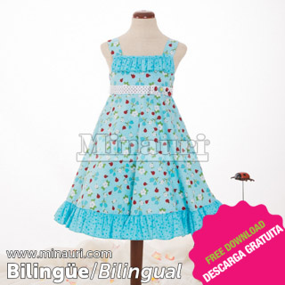 Vestido de Nina Ref 13 04 By Maria Fernanda