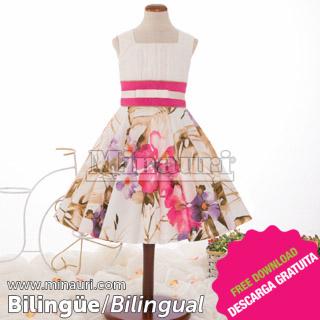 Vestido de Nina Ref 17 04 By Maria Fernanda
